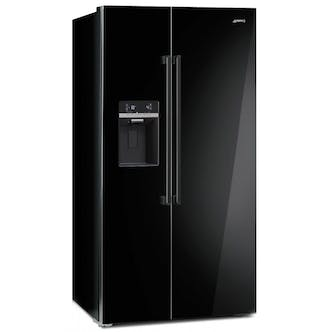 Smeg Sbs63ned American Style Side By Side Fridge Freezer