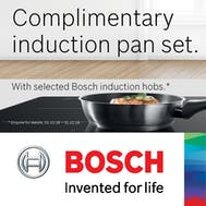 FREE Bosch Pan Set!