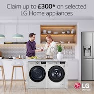 Save Up To £300 On Selected LG Appliances!