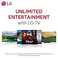 Unlimited Entertainment with LG!
