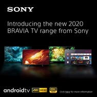 Introducing The New 2020 Sony Range!