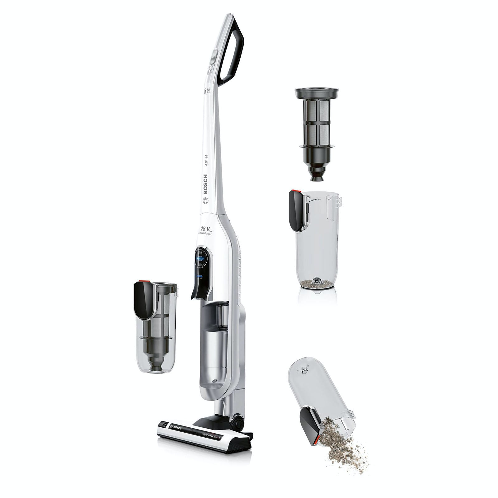 Bosch BBH62860 Athlet Cordless Bagless Vacuum Cleaner in