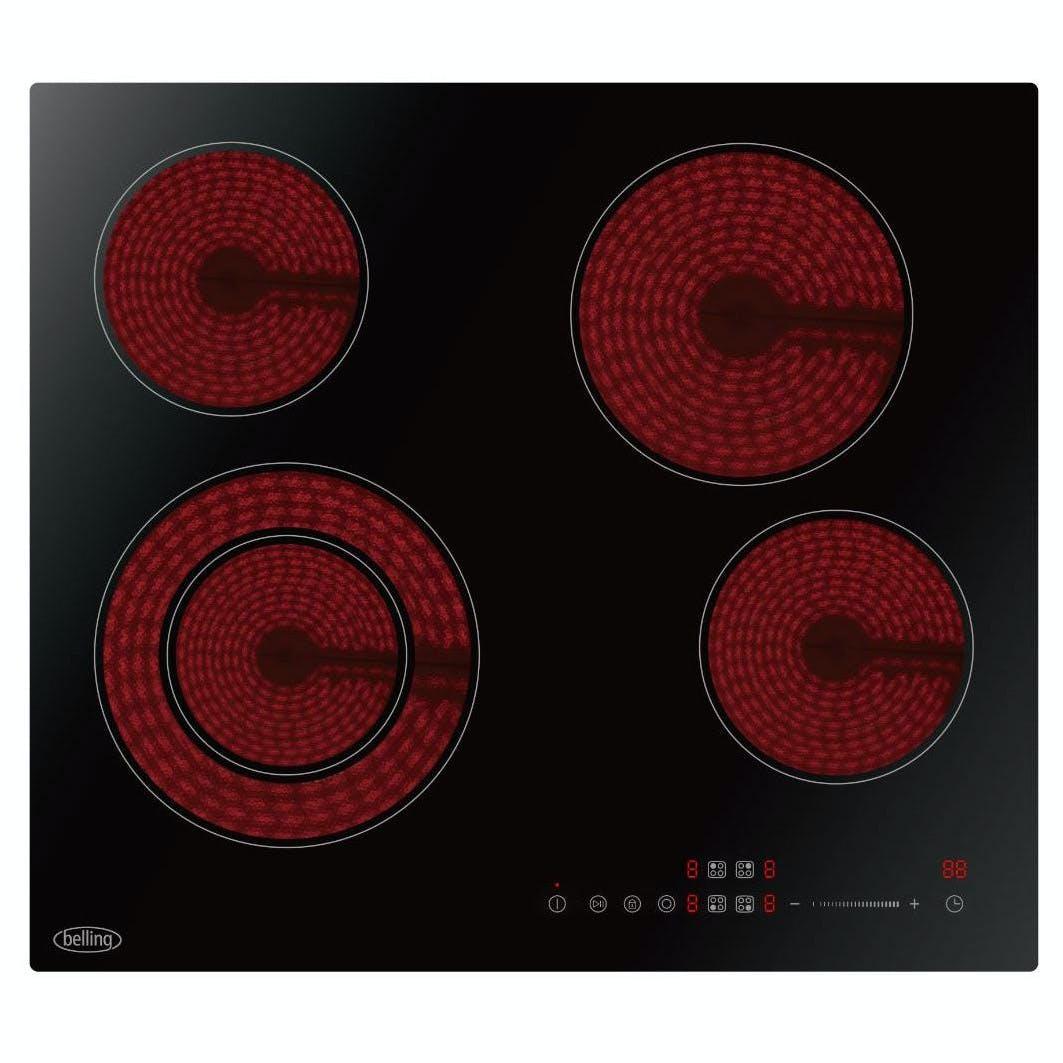 Amica PI6540TU Induction Frameless Touch Control Hob 60 cm Black