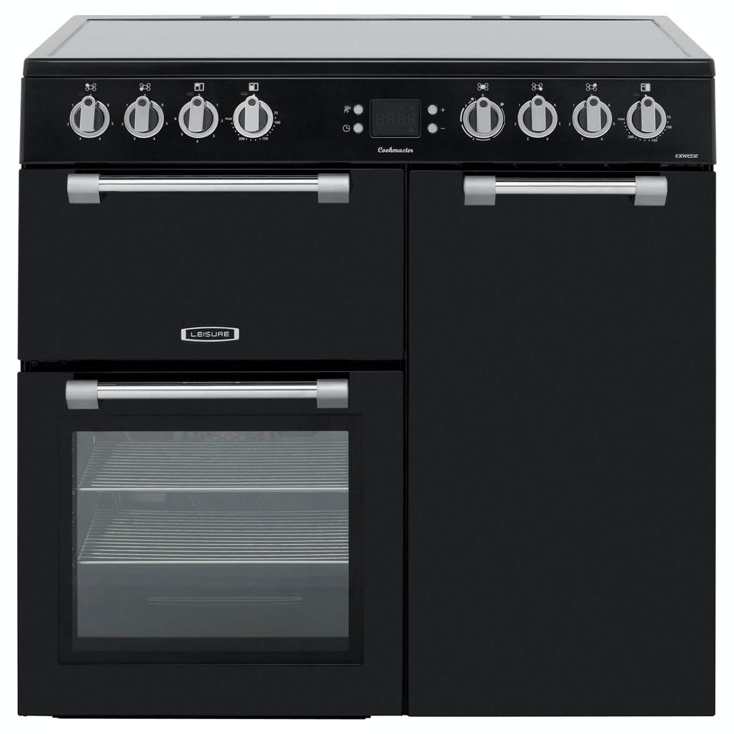 Leisure Ck90c230k 90cm Cookmaster Electric Range Cooker In