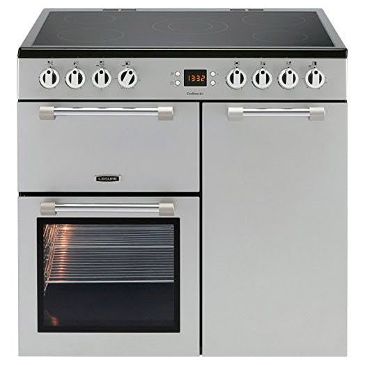 Leisure Ck90c230s 90cm Cookmaster Electric Range Cooker In