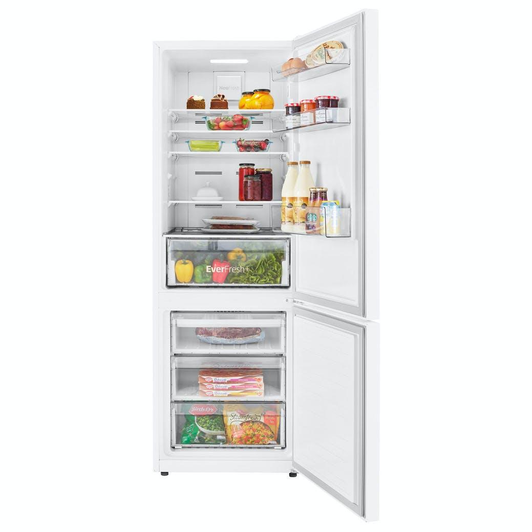 Beko Cng1672ew Frost Free Fridge Freezer In White 1 72m