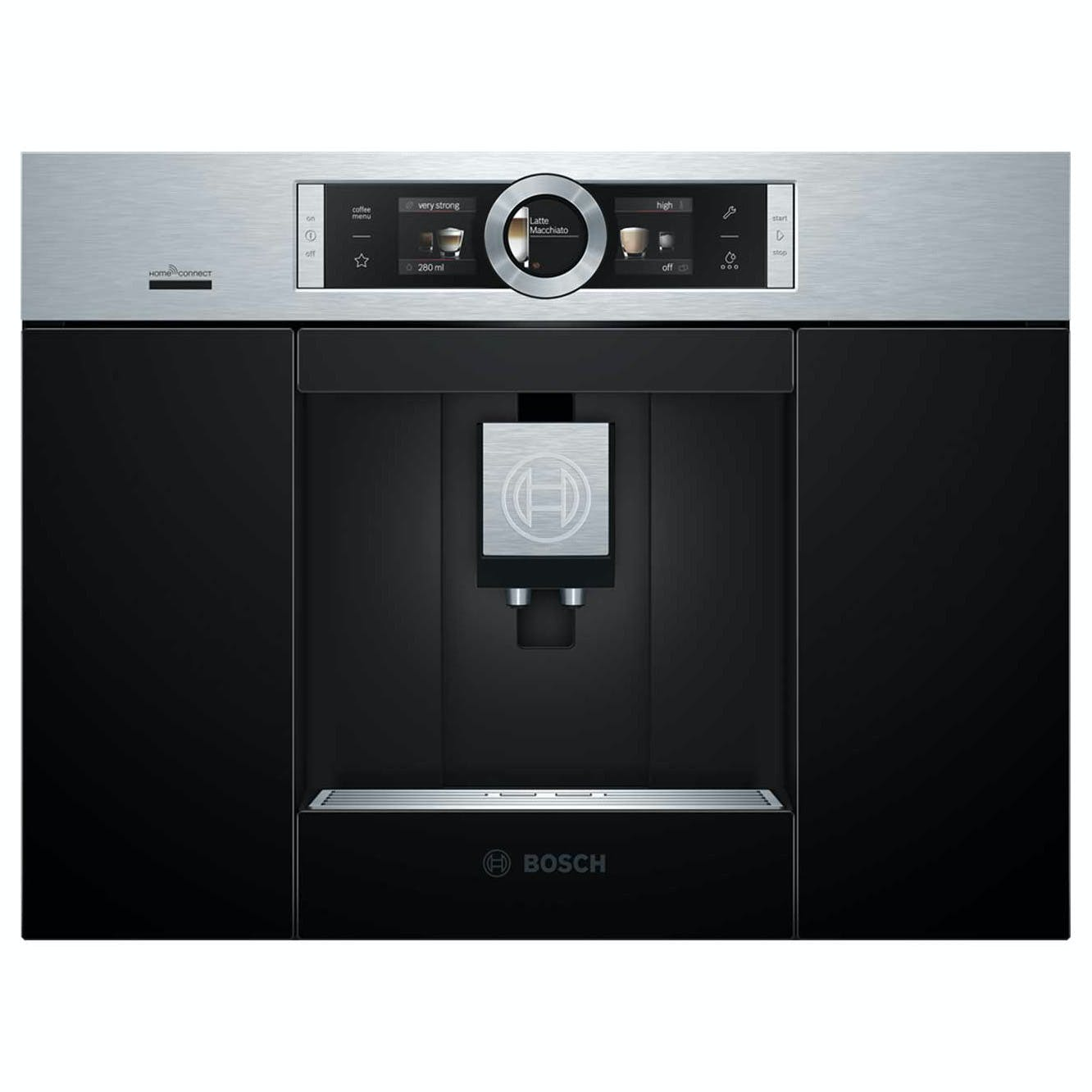 Bosch CTL636ES6 Serie 8 Built In Fully Automatic Coffee Centre in BrSt