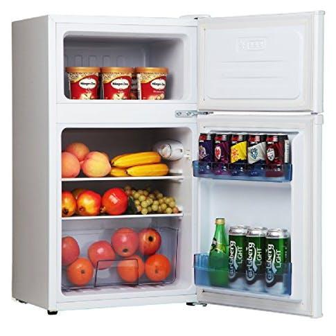 Amica Fd171 4 50cm 2 Door Undercounter Fridge Freezer In