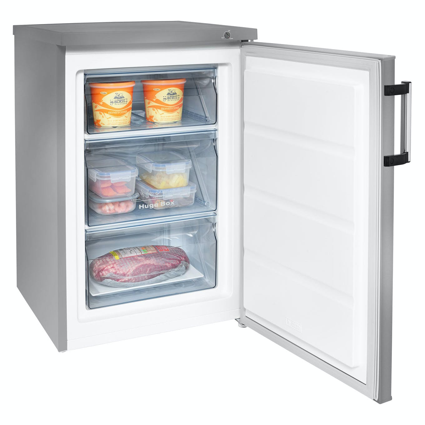 Hisense Fv105d4bc2 55cm Freezer In Stainless Steel 0 85m A