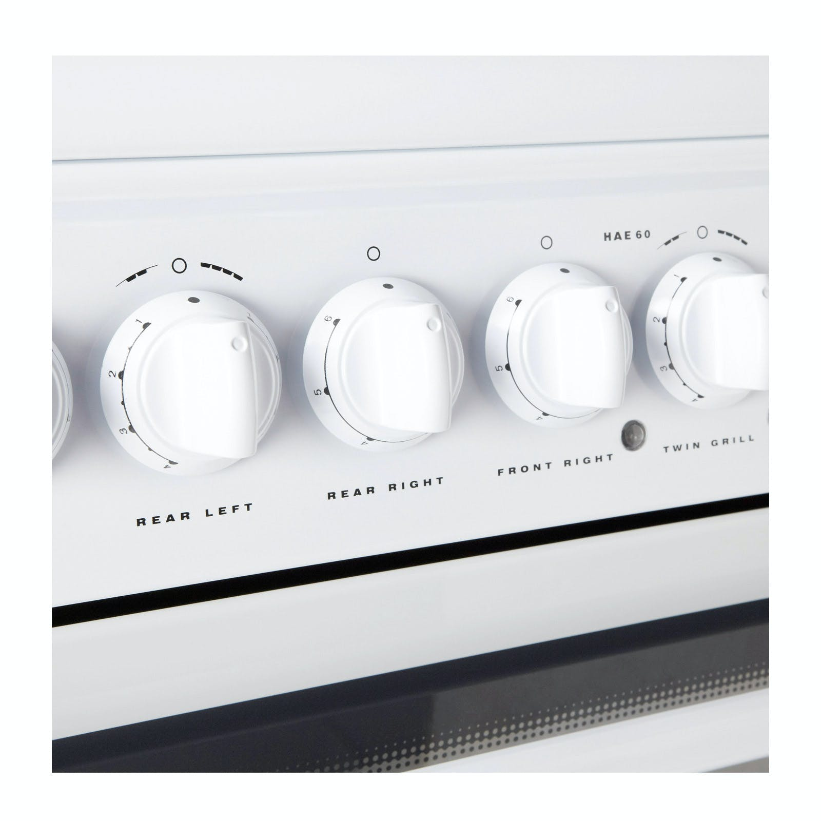 Hotpoint Hae60ps 60cm Electric Cooker In White Ceramic
