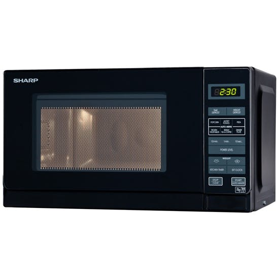 Sharp R272km Compact Microwave Oven In