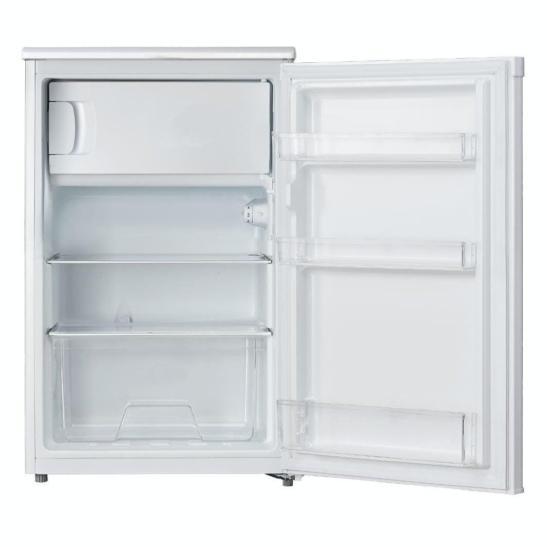 Lec R5017w 50cm Undercounter Fridge With Freezer Box In