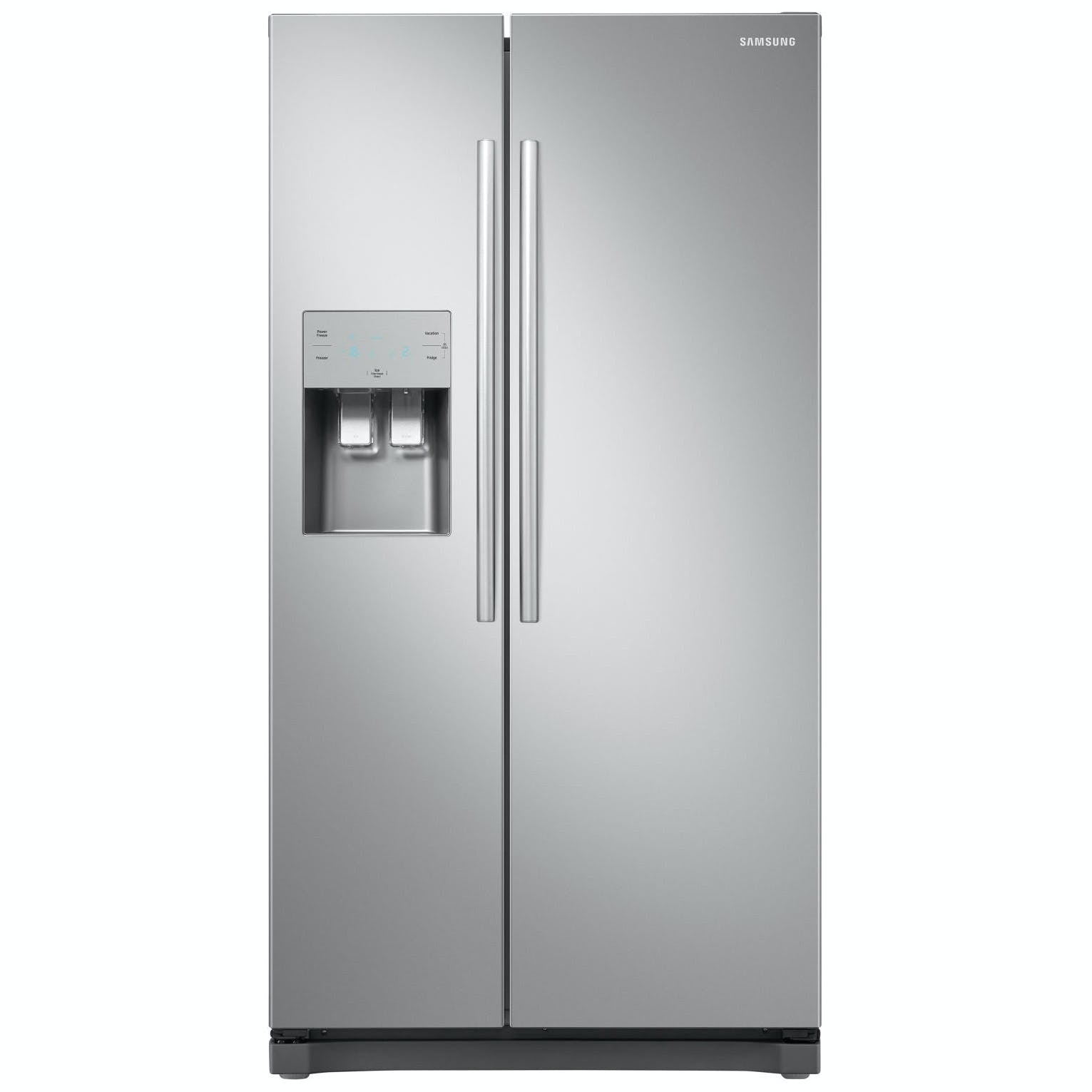 Samsung RS50N3513SL American Fridge Freezer in Graphite Ice & Water 1 8m A+