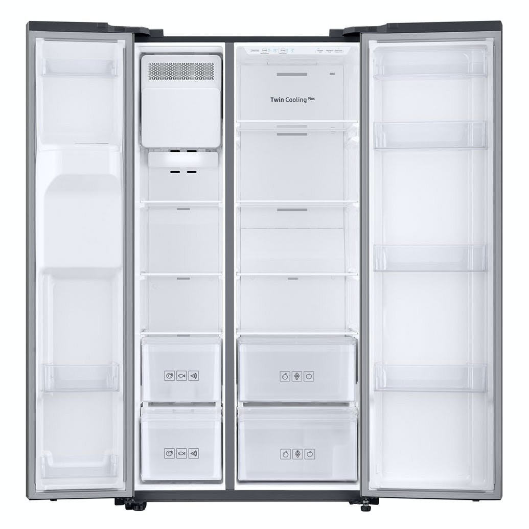 Samsung Rs67n8210s9 American Fridge Freezer In Silver Ice