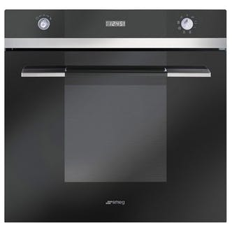 Smeg Sf109n 60cm Linea Multifunction Maxi Oven Black